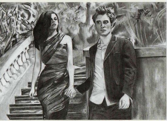 Robert Pattinson, Kristen Stewart by sunnyelo